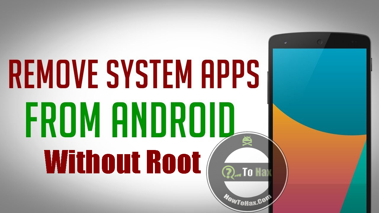 How to remove system applications on Android: instructions 77