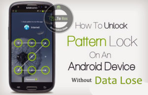 How to unlock forgotten pattern lock in android without losing data.
