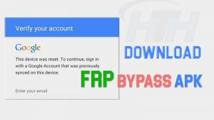 Download FRP Bypass APK