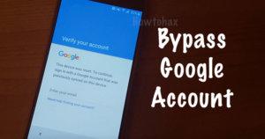 bypass google account apk